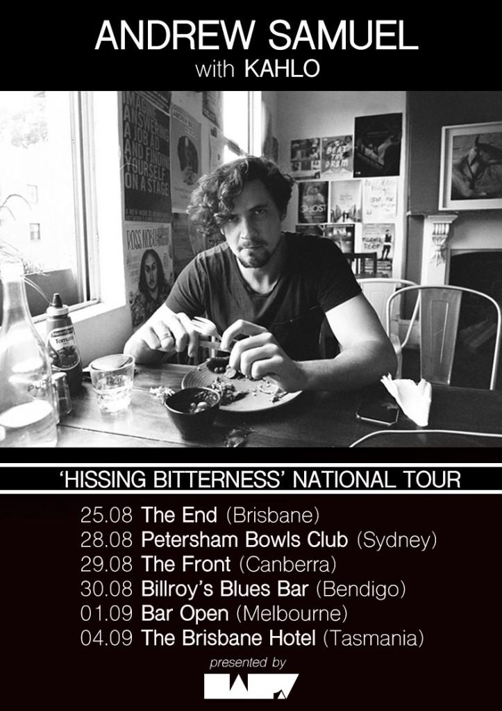 Andrew Samuel Tour Poster